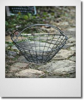 画像1: CARNAC アルジェントワイヤーバスケット