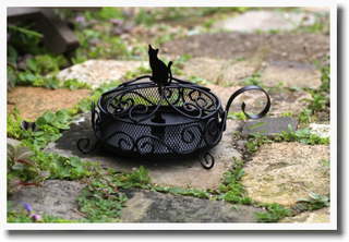 画像1: 黒猫蚊遣り 【 ディアキャッツシリーズ 】