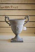 アンテックグレイWハンドルレリーフカップ