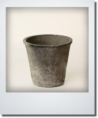 画像1: ブラックアザレアポット15cm