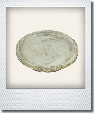 画像1: ホワイトソーサー14cm