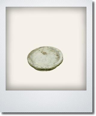 画像1: ホワイトソーサー10cm
