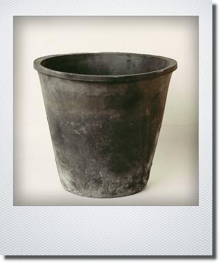 画像1: ブラックアザレアポット30cm