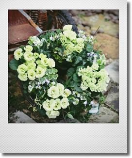 画像1: リース『バラ咲きジュリアン マスカットのジュレ』*送料込み*